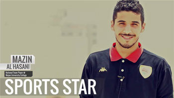 From a Sports Star: Mazin Al Hasani