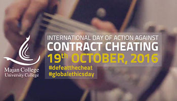 International Day of Action Against Contract Cheating
