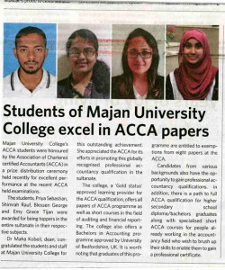 Excel in ACCA papers