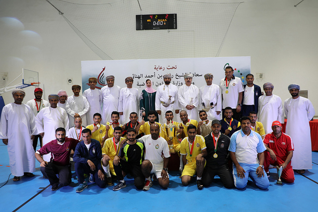 Futsal Championship for employees